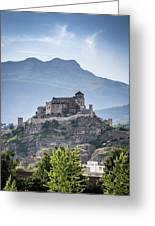 Castle Tourbillon  Greeting Card