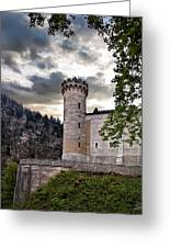 Castle Tower Greeting Card