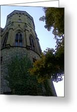 Castle Towers The Trees Greeting Card