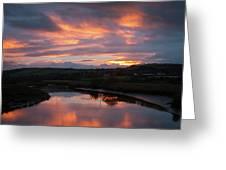 Castlemaine December Dawn Greeting Card