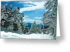Castlerock Run Greeting Card