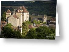 Castles Of Curemonte Greeting Card