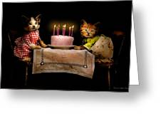 Cat - It's Our Birthday - 1914 Greeting Card