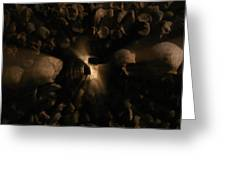 Catacombs - Paria France 3 Greeting Card