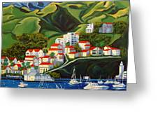 Catalina Island 2 Greeting Card by Milagros Palmieri