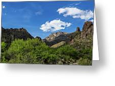 Catalina Mountains In Tucson Arizona Greeting Card