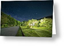 Catamount Milky Way Greeting Card