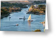 Cataracts Of The Nile Greeting Card