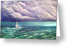 Tell The Storm Greeting Card
