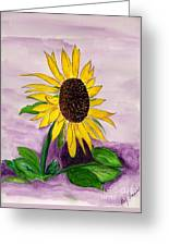 Catching A Sunflower  Greeting Card