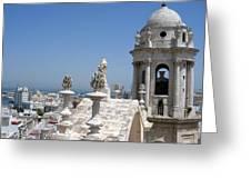 Catedral De Cadiz II Greeting Card