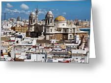 Catedral De Cadiz Greeting Card