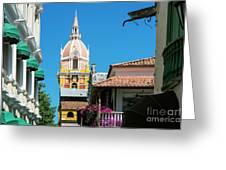 Catedral De Cartagena Greeting Card