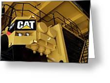 Caterpillar 797f Mining Truck 02 Greeting Card