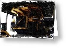 Caterpillar 797f Mining Truck Pa  Greeting Card