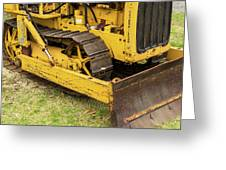 Caterpillar D2 Bulldozer 01 Greeting Card