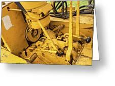 Caterpillar D2 Bulldozer 07 Greeting Card
