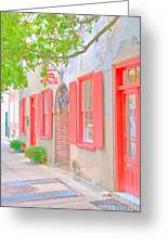 Catfish Row Chs Greeting Card