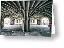 Cathedral Arches Greeting Card