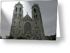 Cathedral Basilica In Newark Nj Greeting Card