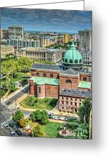 Cathedral Basilica Of Saints Peter And Paul Philadelphia  Greeting Card