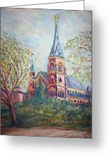 Cathedral Church Greeting Card