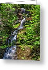 Cathedral Falls 2 - Paint Greeting Card