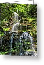 Cathedral Falls 4 - Paint Greeting Card