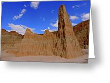 Cathedral Gorge Greeting Card