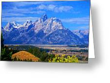 Cathedral Group Impressions Greeting Card
