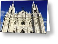 Cathedral In El Salvador Greeting Card