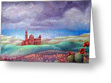 Cathedral In Gozo Greeting Card