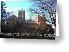 Cathedral In The Fall Travel Greeting Card
