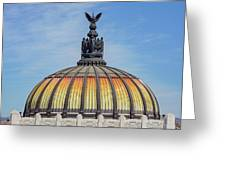 Cathedral Of Art In Mexico Greeting Card