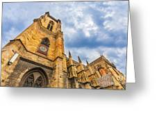 Cathedral Of Colmar, Alsace,france Greeting Card