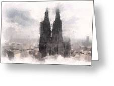 Cathedral Of Cologne Greeting Card