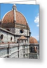 Cathedral Of Florence Greeting Card