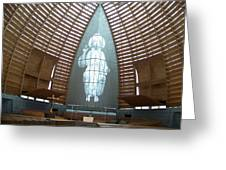 Cathedral Of Light Greeting Card
