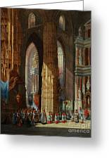 Cathedral Of San Miguel Greeting Card
