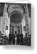 Cathedral Of St. John In Nyc Greeting Card