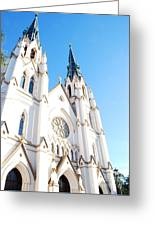 Cathedral Of St. John The Baptist Greeting Card