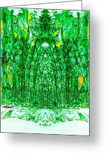 Cathedral Of Trees Greeting Card
