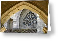 Cathedral On The Saint James Path  Greeting Card
