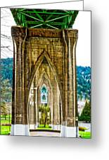Cathedral Park Greeting Card