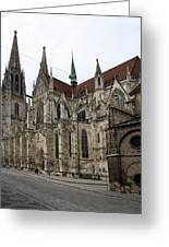 Cathedral Regensburg Greeting Card