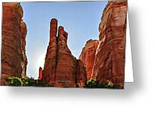 Cathedral Rock 05-155 Greeting Card