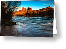 Cathedral Rock 8 Greeting Card