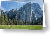 Cathedral Rock And Spires Greeting Card