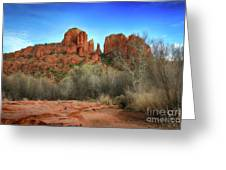 Cathedral Rock In Sedona Greeting Card