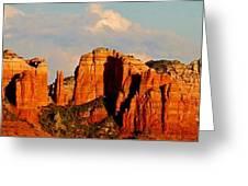 Cathedral Rock Panorama Greeting Card